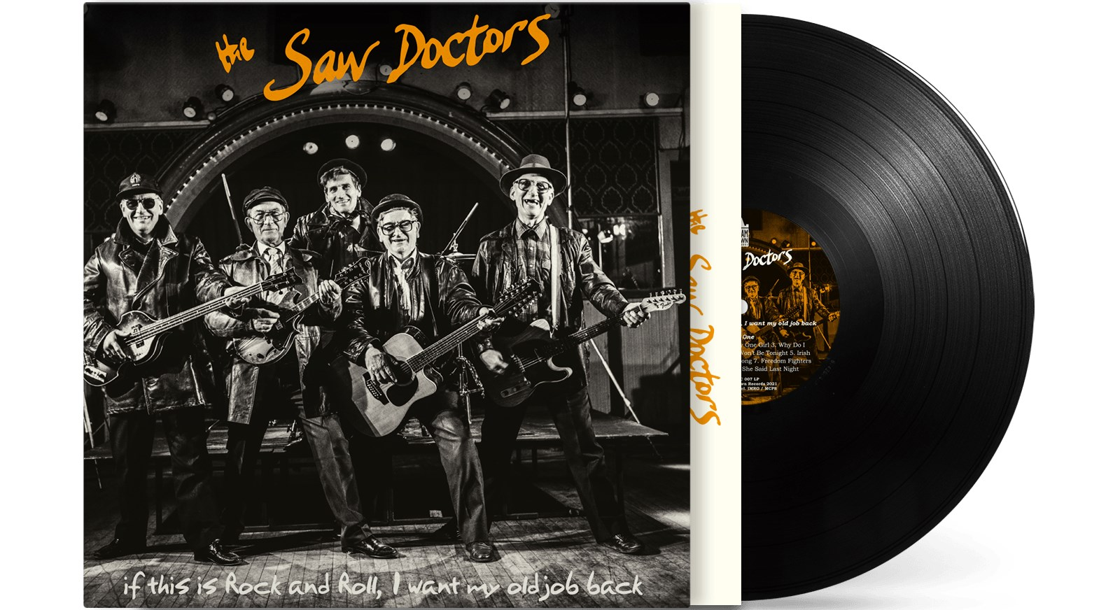 Saw Doctors Release Limited edition vinyl LP of The Saw Doctors debut album to celebrate the 30th anniversary
